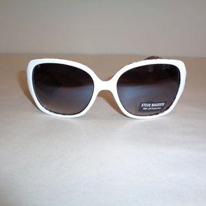 Steve Madden SM893105 White Womens Sunglasses